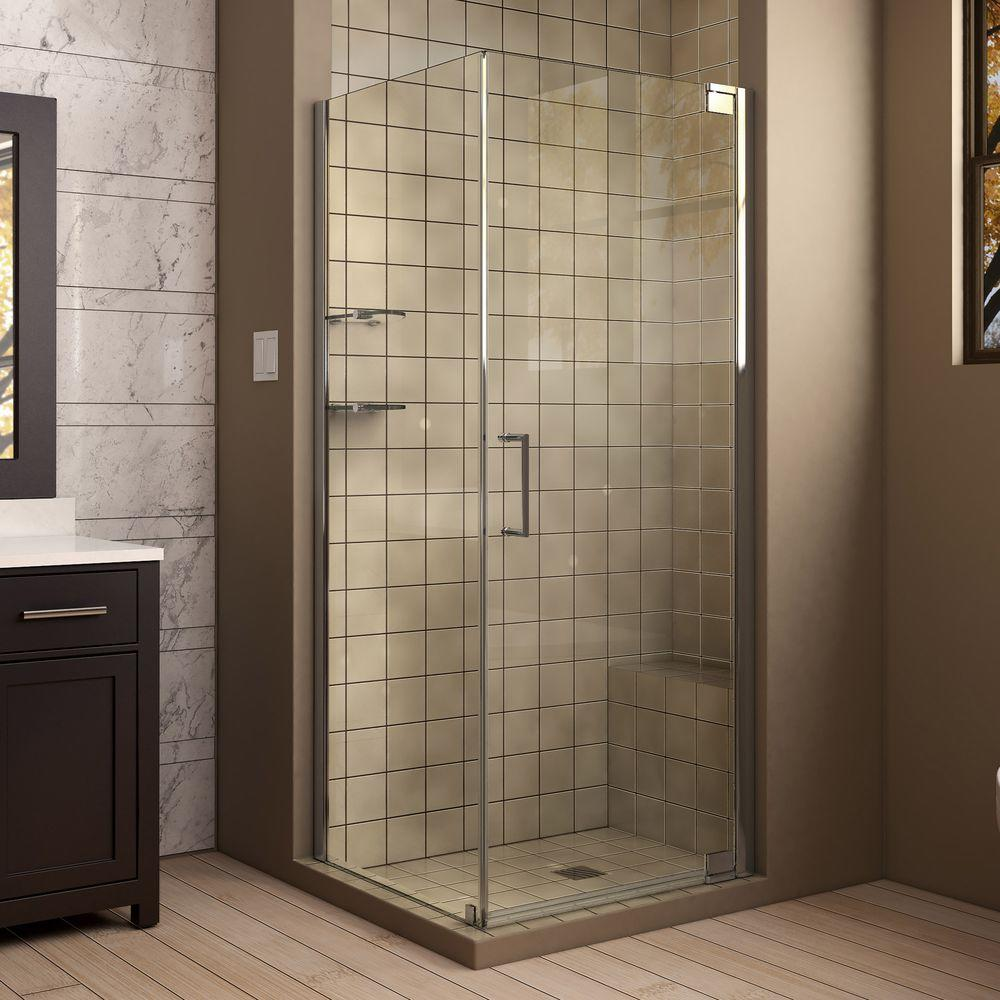 Dreamline Elegance 30 In X 34 72 Semi Frameless