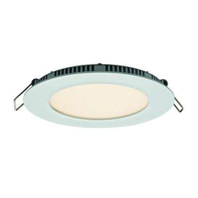 5 in. White Integrated LED Recessed Kit