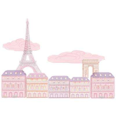 Pink Oui Oui Paris Wall Decal