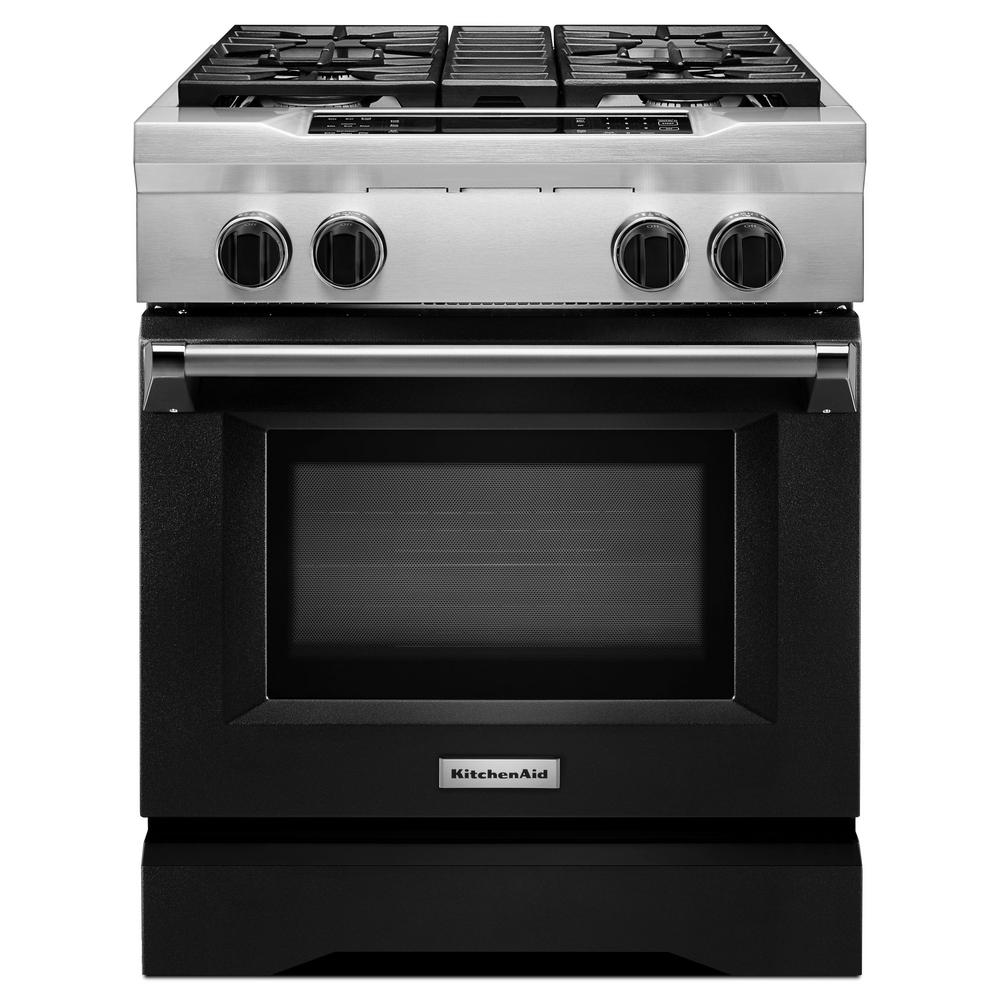 30 in. 4.1 cu. ft. Dual Fuel Range with Convection Oven