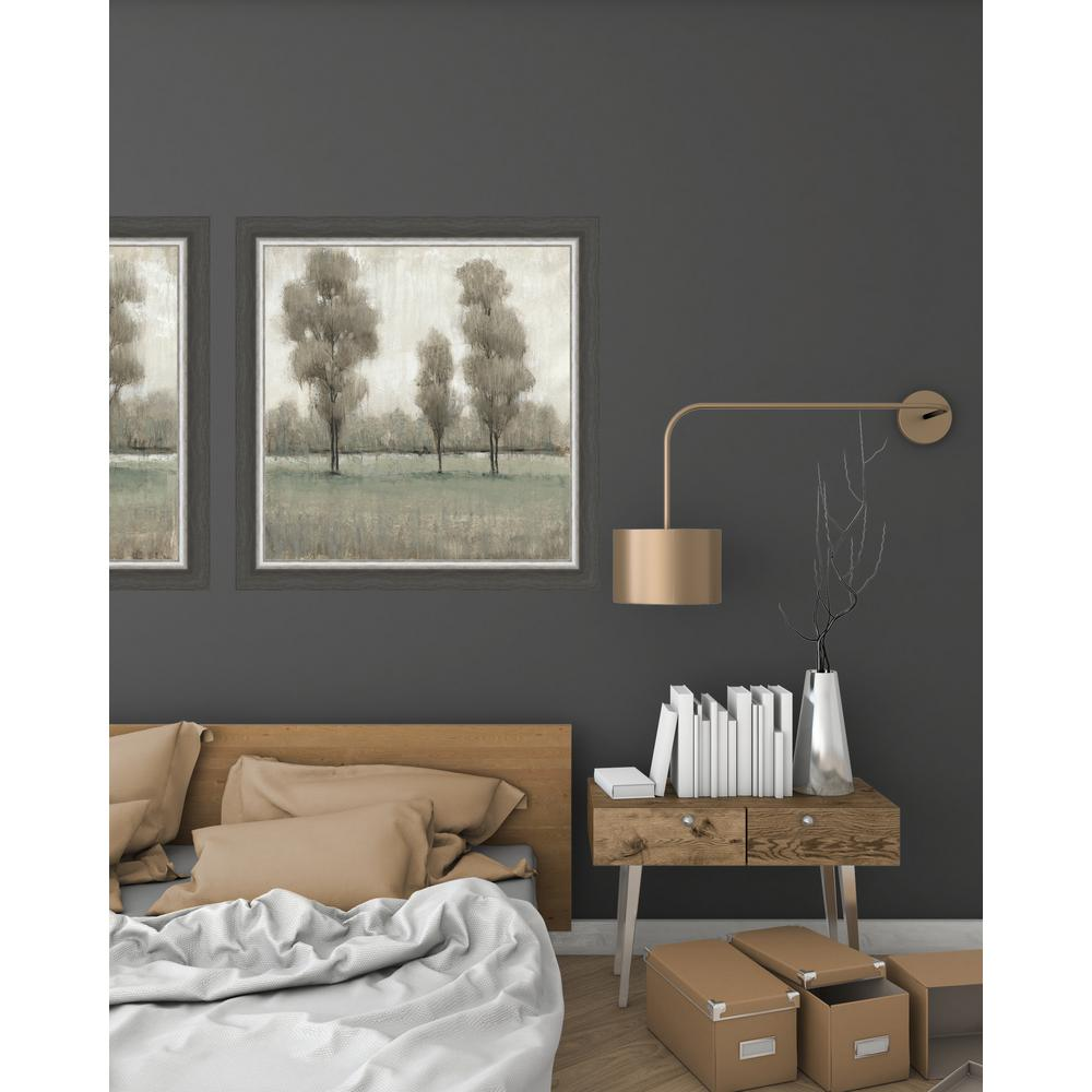Shimmering Trees I By Tim O Toole Textured Paper Print Framed Wall Art