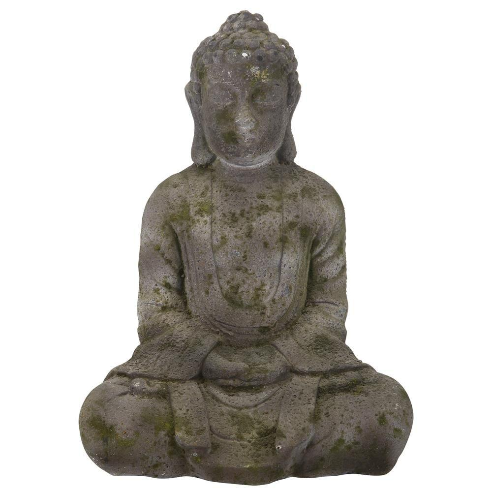 A B Home 14 5 In Sitting Buddha Statue Dt75427 The