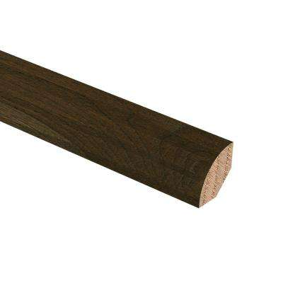 Hickory Heritage Grey 3/4 in. Thick x 3/4 in. Wide x 94 in. Length Hardwood Quarter Round Molding