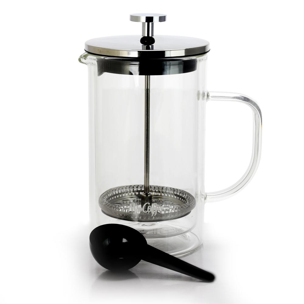 Mr Coffee Hyland 20 Oz French Press Coffee Maker With Scoop 986105354m The Home Depot