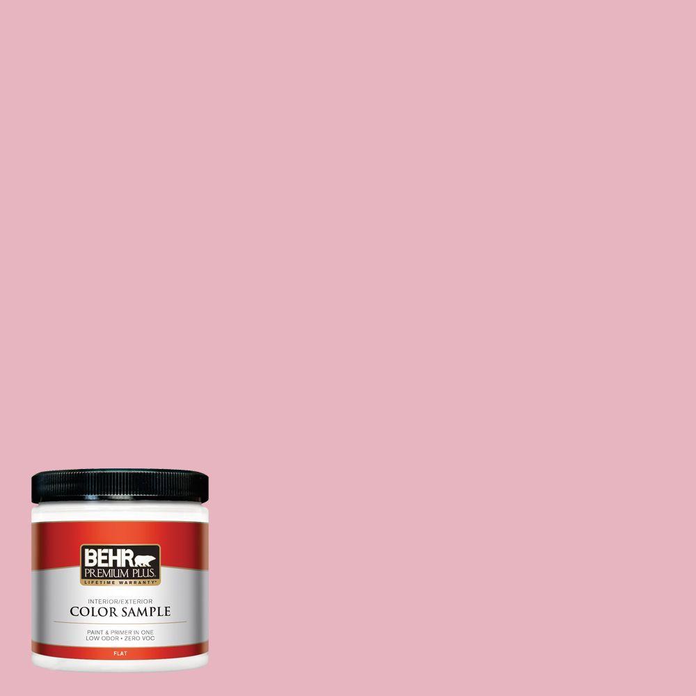 8 oz. #M140-3 Premium Pink Interior/Exterior Paint Sample