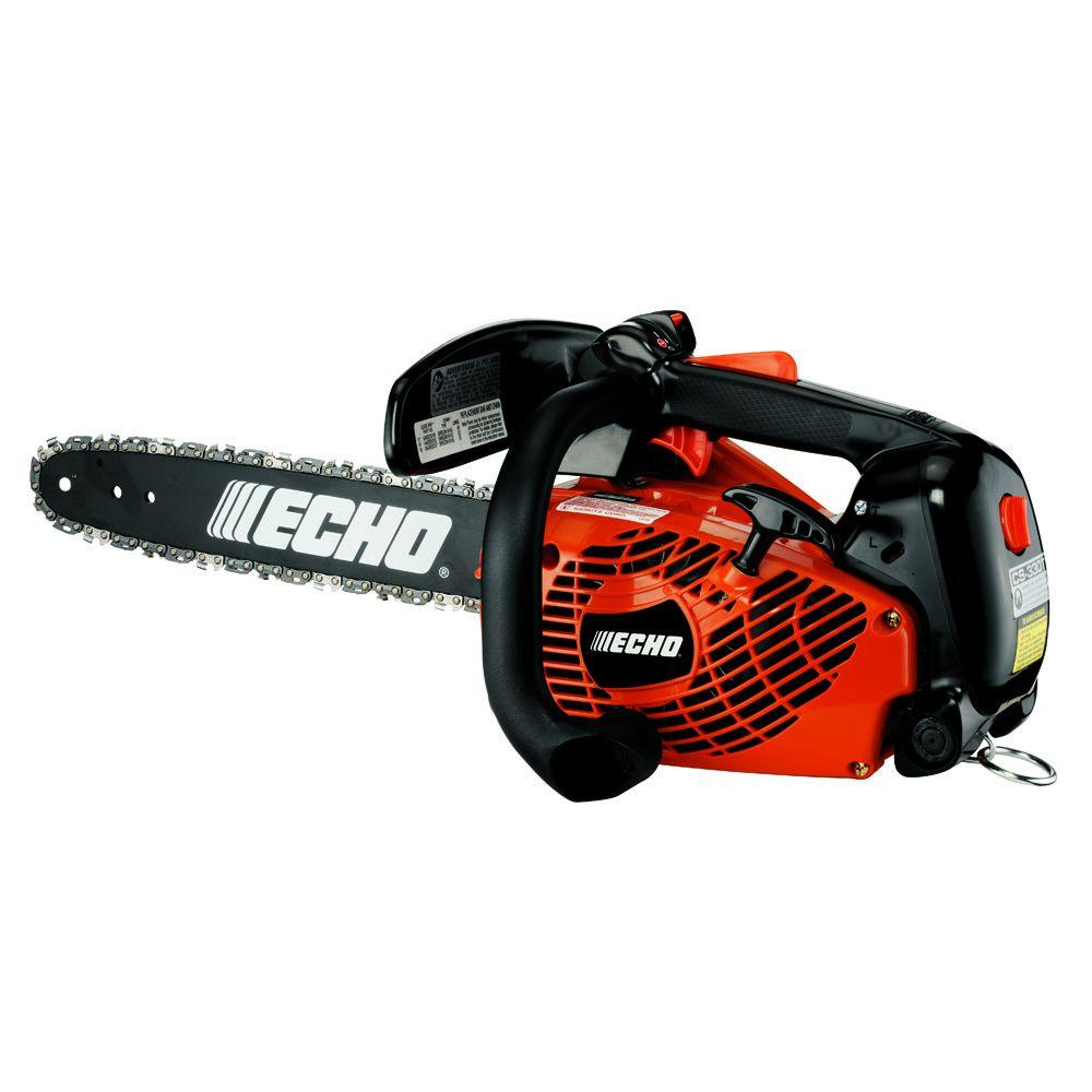 Echo 14 in 326cc gas chainsaw cs 330t 14aa the home depot echo 14 in 326cc gas chainsaw greentooth
