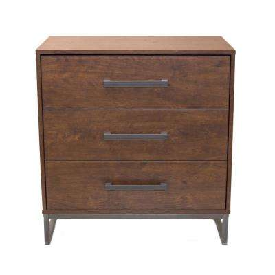 Lincoln 3-Drawer Reclaimed Cherry Chest