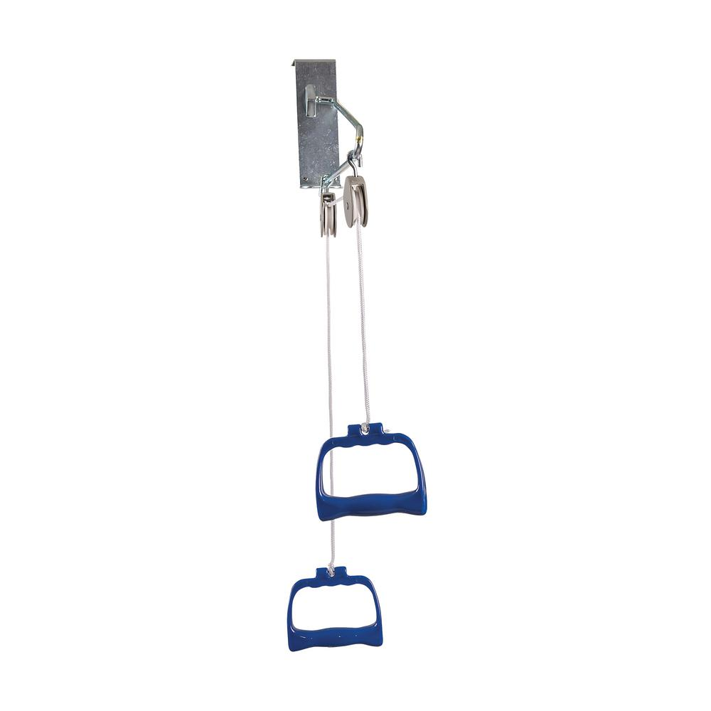 Standard Overdoor Exercise Pulley Set With Handles