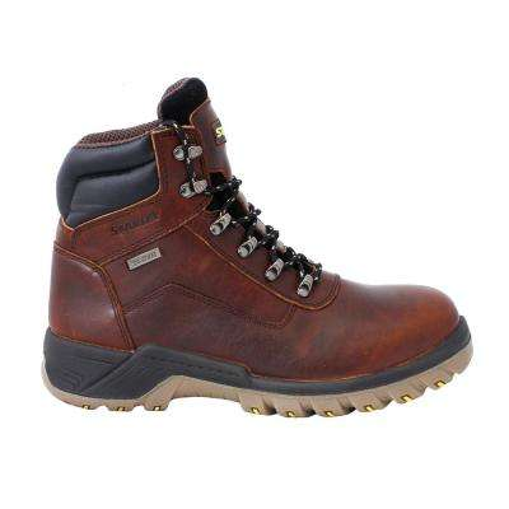 Outback 2.0 Men 6 in. Size 9.5 Brown Leather Steel Toe Waterproof Work Boot