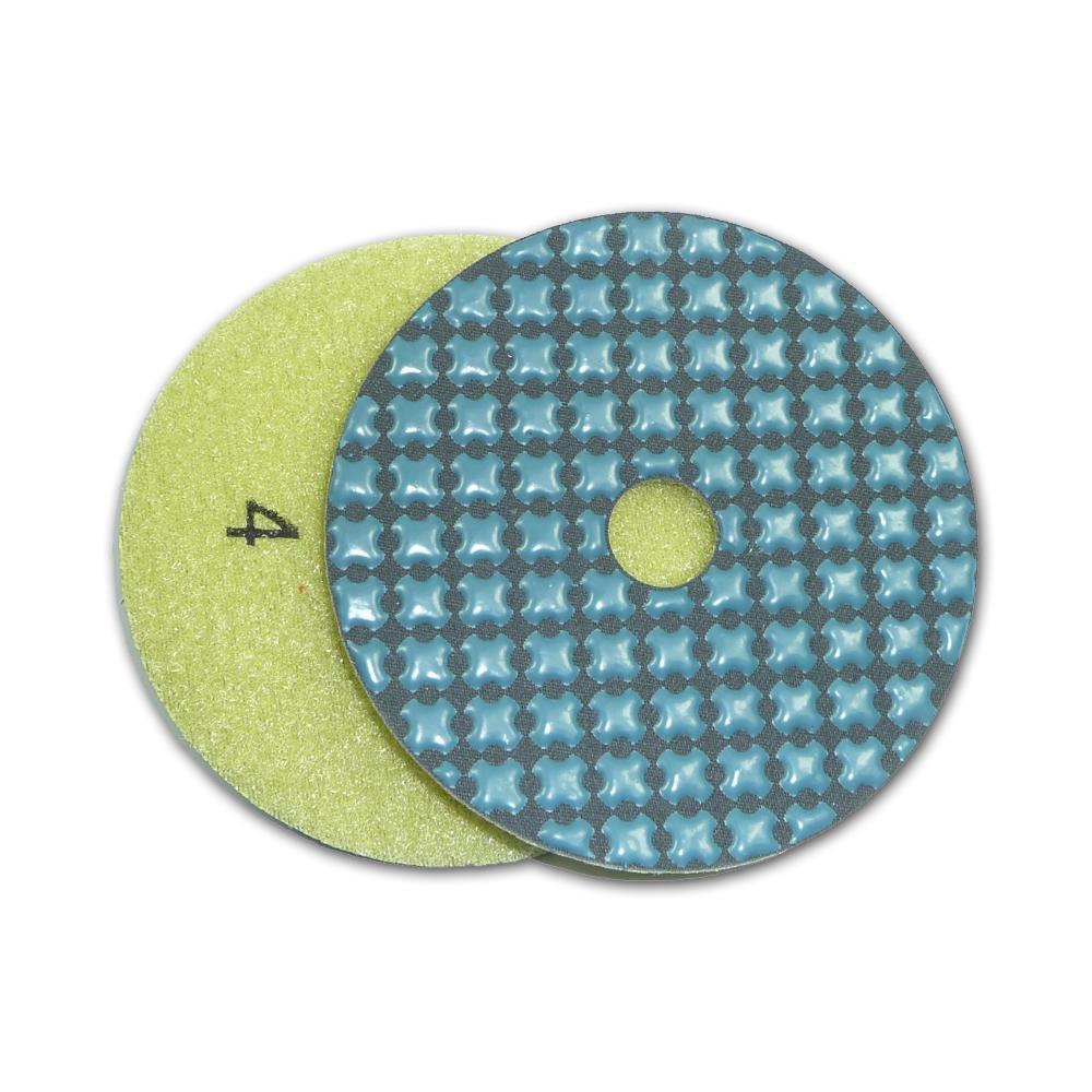 4 in. 5-Step Dry Diamond Polishing Pads Step 4