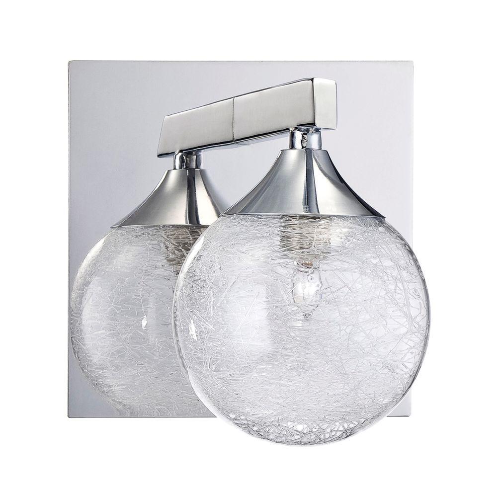 FYBRA Series Chrome Bath Light