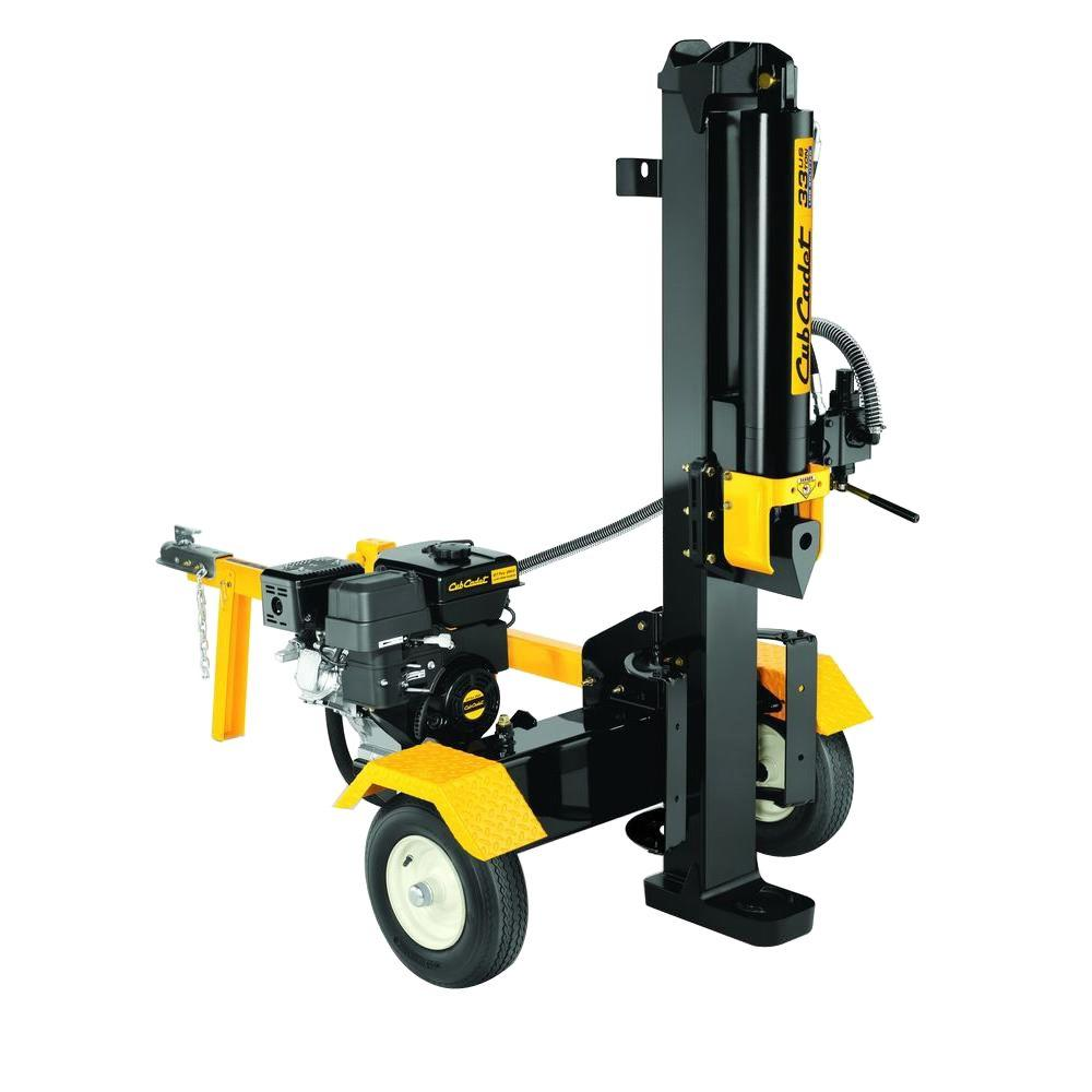 33-Ton 277cc Gas Log Splitter