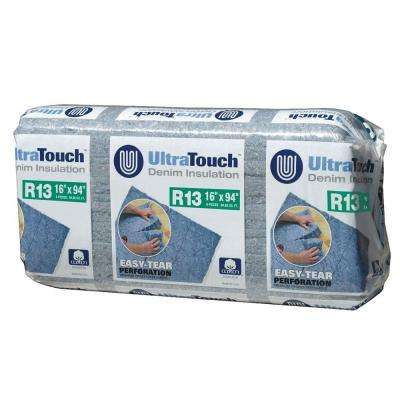 16.25 in. x 94 in. R13 Denim Insulation (12-Bags)