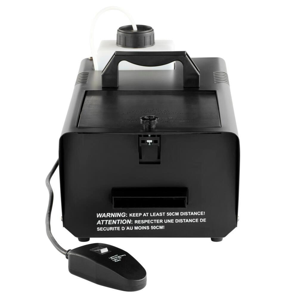 400-Watt Low-Lying Fog Machine with Auto-Stop Function