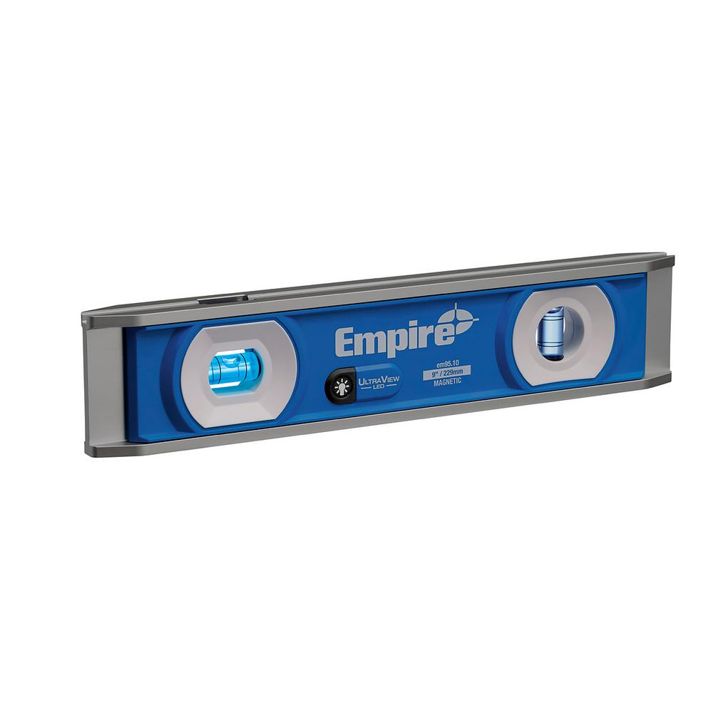 Empire UltraView LED 9 in. Torpedo Level