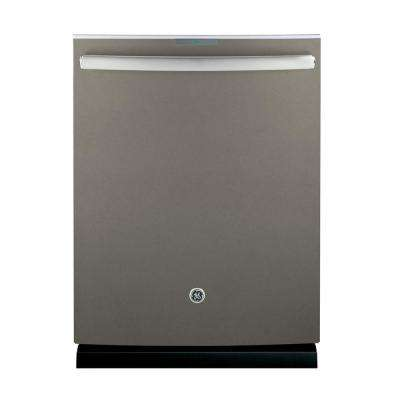 Profile Top Control Dishwasher in Slate with Stainless Steel Tub, Fingerprint Resistant