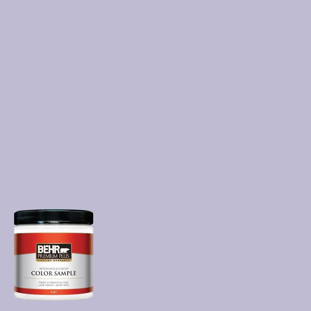 BEHR Premium Plus 8 oz. #640C-3 Twilight Pearl Interior/Exterior Paint Sample