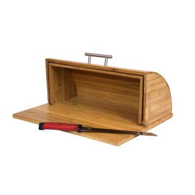 Bamboo Bread Box  sc 1 st  Home Depot & Bread Boxes - Countertop Storage - The Home Depot