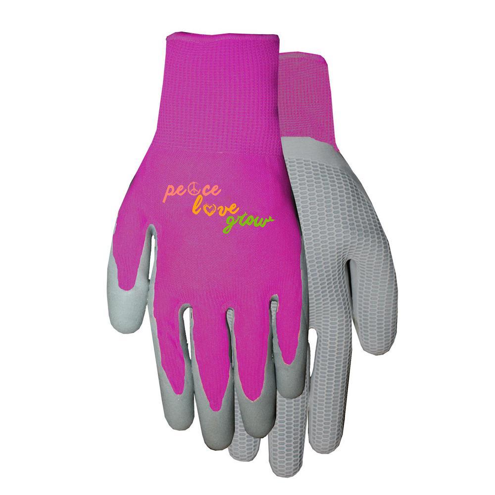 Ladies Latex Coated Gloves
