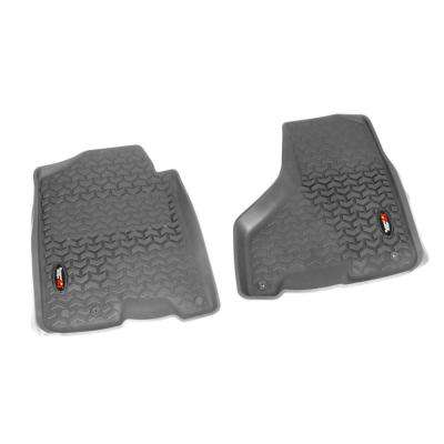 Front Floor Liners in Gray