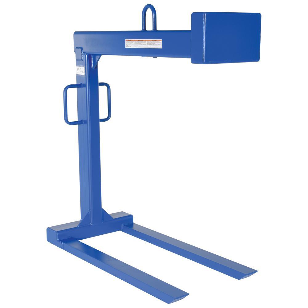Vestil 4,000 lb. Capacity Pallet Lifter with 48 inch Forks by Vestil
