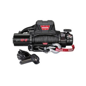Warn VR10-S 10,000 lb. Winch with Synthetic Rope by Warn