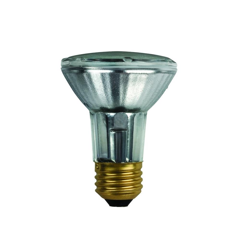 Philips 40 watt halogen g25 clear decorative globe light bulb 3 pack 433680 the home depot Light bulb wattage