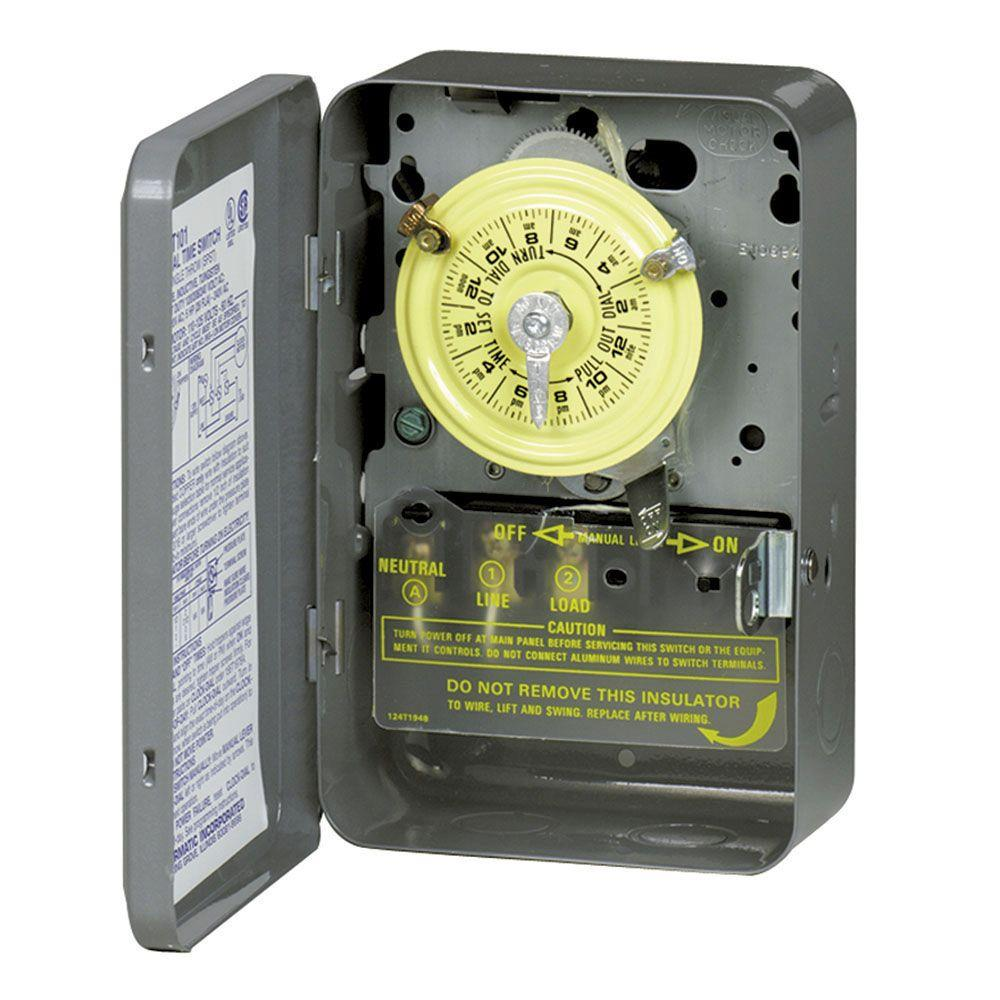 Upc 078275000025 Timers Intermatic Electrical Supplies 40 Amp 208