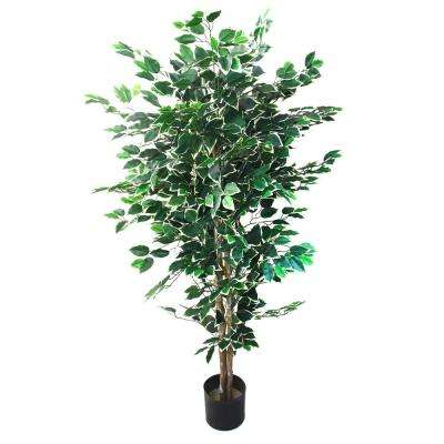 5 ft. Tall Artificial Topiary Ficus Tree