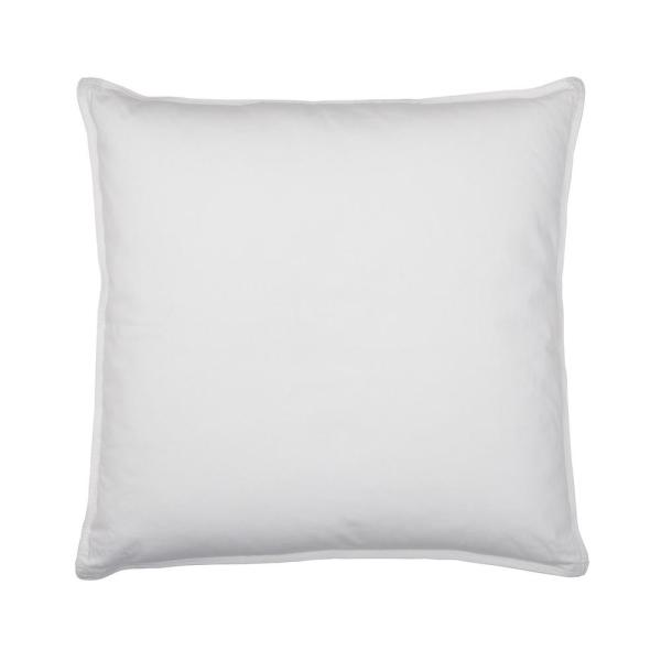 TCS Down Firm 26 in. x 26 in. Euro Square Pillow