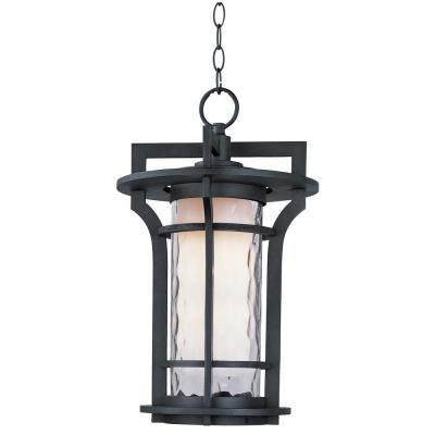 Oakville 12 in. Wide Black Oxide 1-Light Outdoor Hanging Lantern