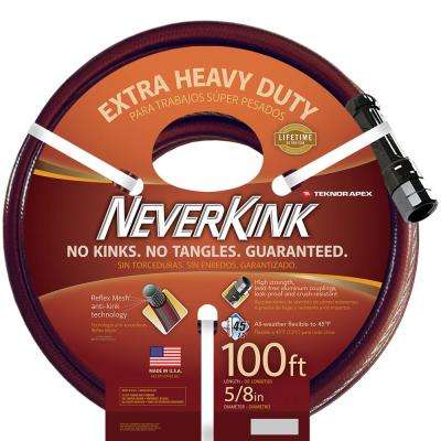5/8 in. Dia x 100 ft. Extra Heavy Duty Water Hose