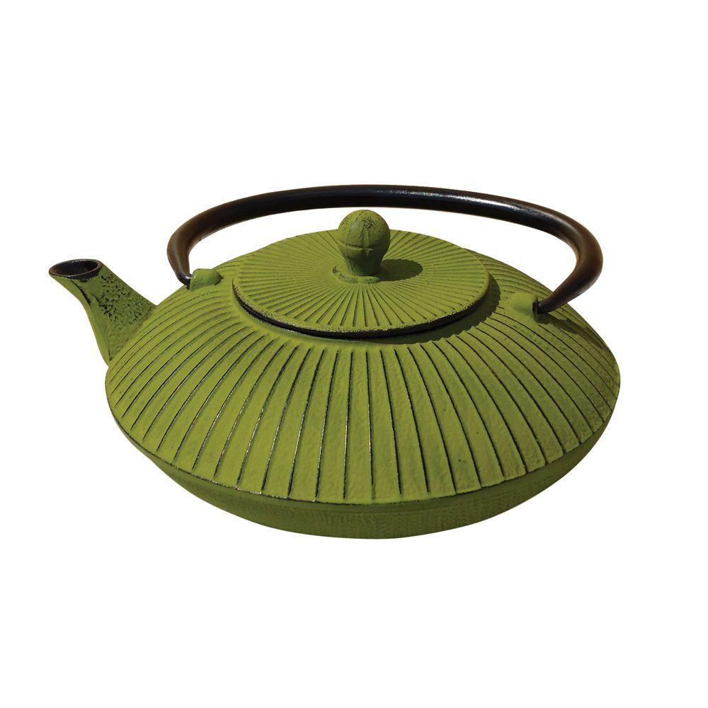 Fidelity 3.32-Cup Teapot in Moss Green