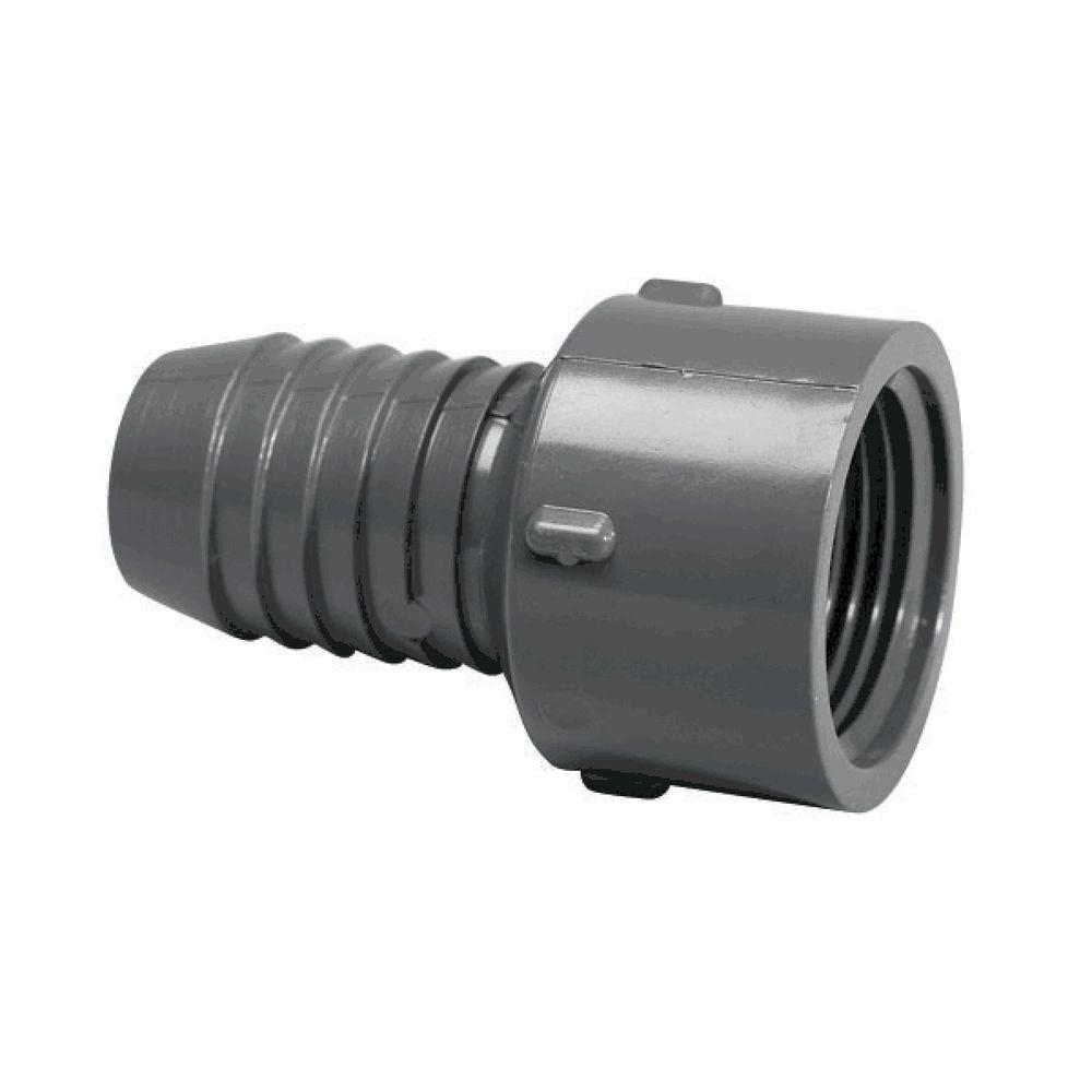 1 in. PVC Barb x FPT Insert Female Adapter