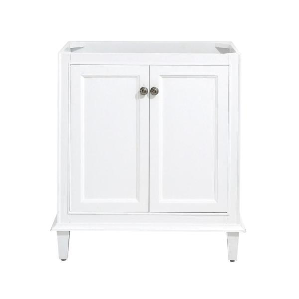 Riverpine 30 in. W x 22 in. D Vanity Cabinet Only in White