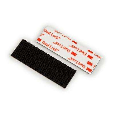 Scotch 1 in. x 3 in. Black Extreme Mounting Strips Value Pack (14 Strips per Pack)