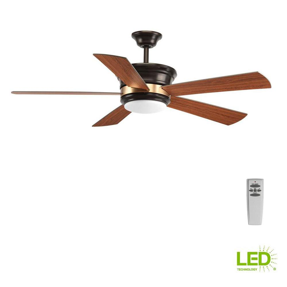 Progress Lighting Harranvale Collection 54 In. LED Indoor