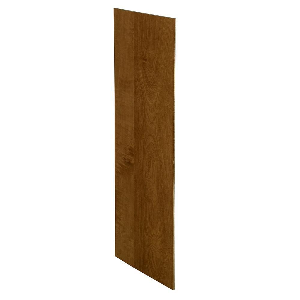Home Decorators Collection Huntington Assembled 23.25 x 24 x .25 in. Wall Skin in Chocolate Glaze