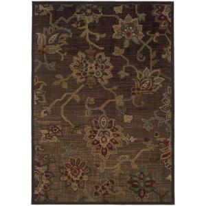 Home Decorators Collection Promise Brown 9 ft. 10 inch x 12 ft. 9 inch Area Rug by Home Decorators Collection