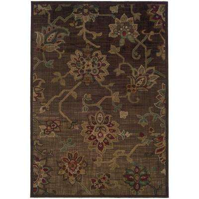 Promise Brown 10 ft. x 13 ft. Area Rug