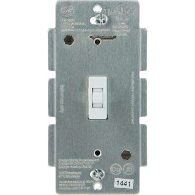 Z-Wave Plus In-Wall Smart Lighting Control Smart Toggle Switch