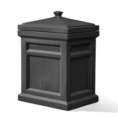 Express Black Plastic Parcel Delivery Box