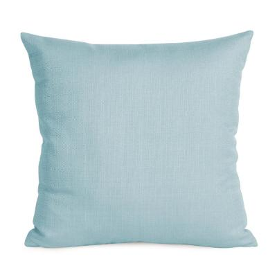 Sterling Blues Solid Polyester 5 in. x 20 in. Throw Pillow