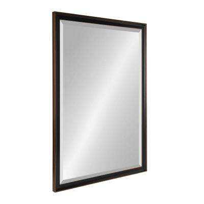 Havana Rectangle Bronze Mirror