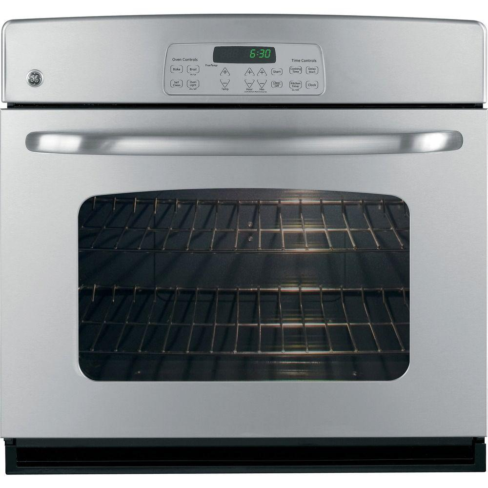GE 30 in. Single Electric Wall Oven in Stainless Steel