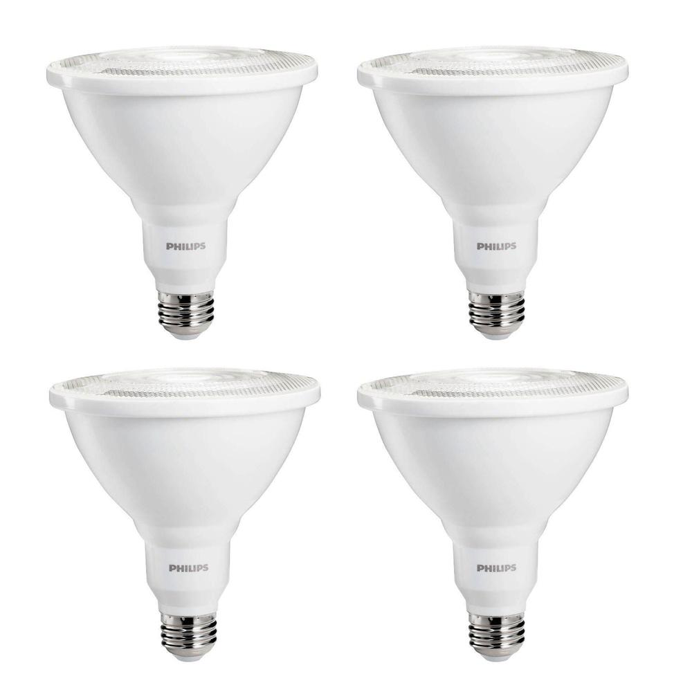 Philips 100Watt Equivalent PAR38 Ambient LED Flood Light Bulb Indoor/Outdoor Daylight 5000K