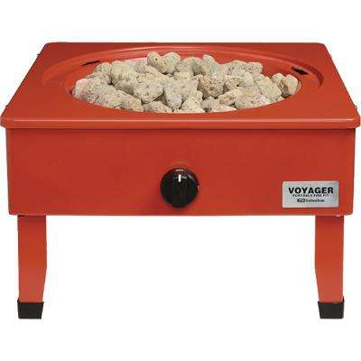 Lightweight Suburban Voyager Portable Fire Pit with Folding Legs
