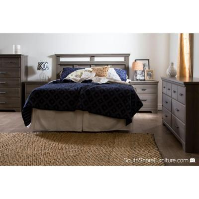 Versa 5-Drawer Gray Maple Chest of Drawers