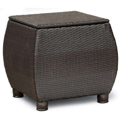 Breckenridge Square Wicker Outdoor Side Table