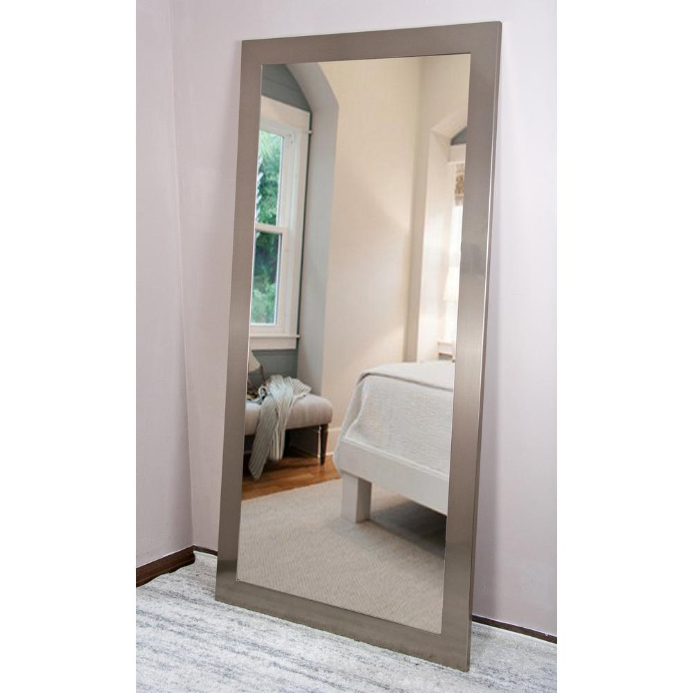 Current Trend Tall Silver Solitaire Dressing Mirror